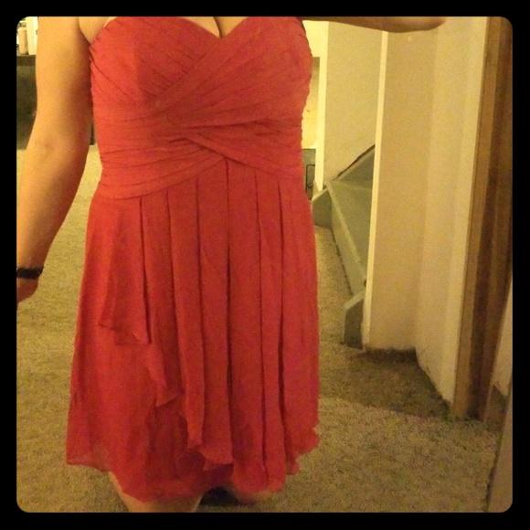 David's Bridal Dresses & Skirts - BNWT Pink formal bridesmaid sleeveless dress